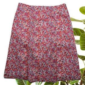 Sportscraft Liberty Kellie Arts Print Skirt size 8